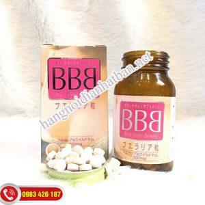 Viên Uống Nở Ngực Best Body Beauty BBB Orihiro 300 Viên Mẫu Mới Nhất