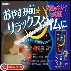 Bột giảm cân orihiro night diet giúp bạn sở hữu thân hình mơ ước