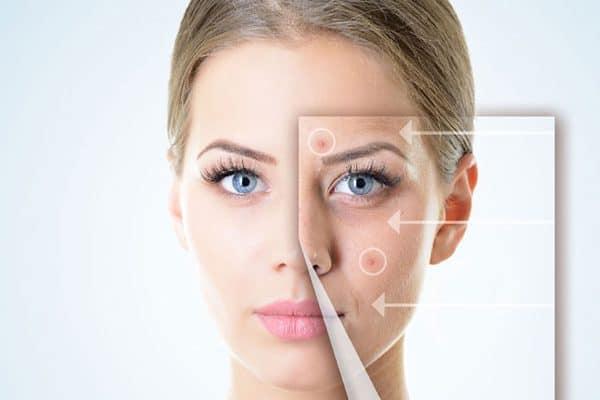 Viên uống Fine Pure Collagen tác động đến quá trình sinh sản tế bào da mới và phục hồi những vùng da hư
