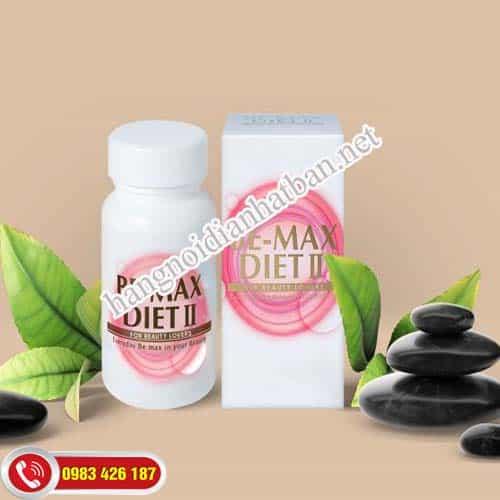 Dùng Be-Max Diet II mỗi ngày để cải thiện chỉ số cơ thể