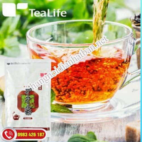 Tận hưởng vị thơm ngọt khi ấm với Puer Tea Life.