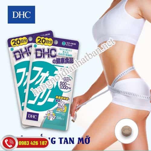 DHC giúp giúp giảm cân an toàn và hiệu quả
