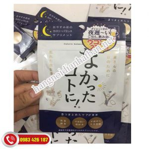 Enzyme-giảm-cân-ban-đêm-Nhật-bản-thoải-mái-cơ-thể
