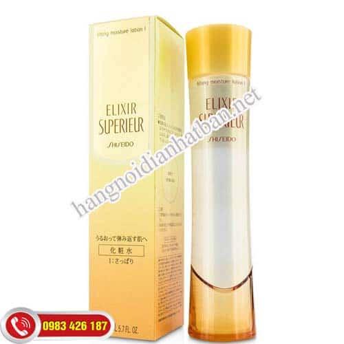 Kem dưỡng da Shiseido Elixir Superieur Lifting Emulsion I chồng hinhg thành nám tàn nhang