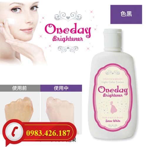 Lotion One Day Brightener trang điểm dưỡng trắng da rẻ nhất Hà Nội
