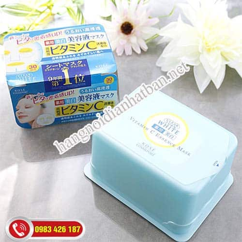 Mặt Nạ Kose Cosmeport Clear 30 miếng