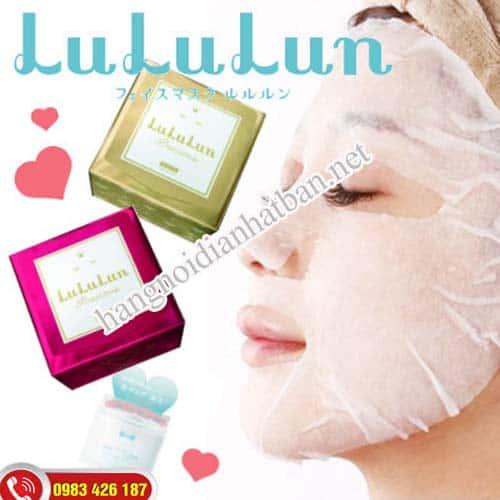 Mặt nạ Lululun Nhật Bản có rất nhiều hiệu quả