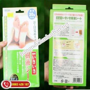 Miếng dán chân khử độc tố Kenko rẻ nhất Hà Nội