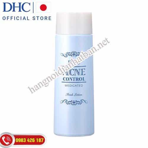 Nước hoa hồng trị mụn DHC Acne Control Fresh Lotion