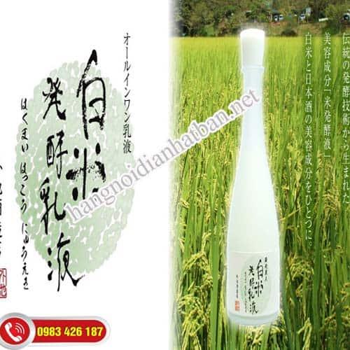 Nước thần dưỡng da Kuramoto Bijin Sake rất tốt cho da