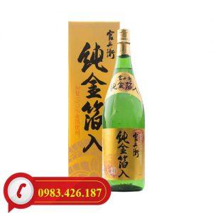 Rượu Sake Vẩy Vàng Kinryu No Mai Junkinpakuiri 1,8L Nhật Bản