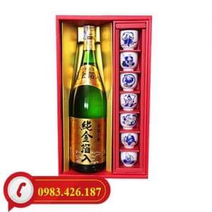Rượu Sake Vẩy Vàng Kinryu No Mai Junkinpakuiri 1,8L cao cấp Nhật Bản