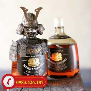 Rượu Whisky Nikka Samurai Cao cấp Nhật Bản bán tại Hà Nội