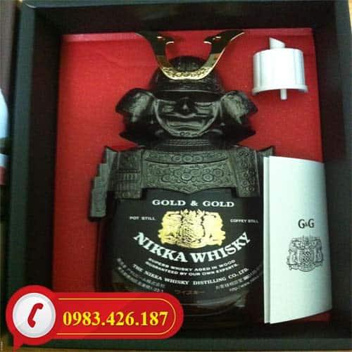 Rượu Whisky Nikka Samurai Cao cấp Nhật Bản giá tốt tại Hà Nội