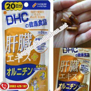 viên uống DHC mát gan, bảo vệ gan