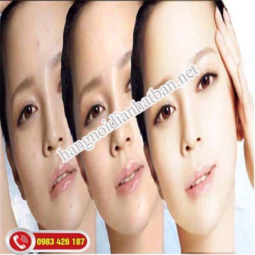 Tình trạng da mặt thay đổi rõ sau khi sử dụng mặt nạ collagen kanebo kracie
