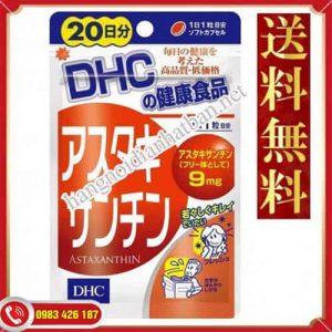 Viên chống lão hóa Astaxanthin DHC