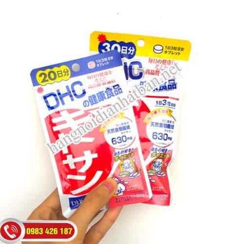 Đáng tan mỡ bụng nhờ viên giảm mỡ bụng Chitosan DHC