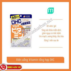 Viên uống Vitamin DHC giúp bạn có cơ thể khỏe mạnh