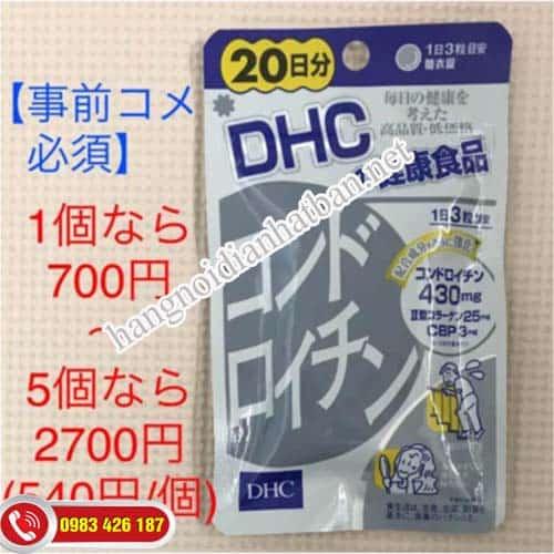 Viên uống bổ khớp DHC