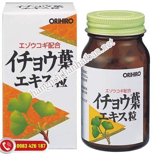 Viên uống bổ não Ginkgo Biloba Nhật Bản