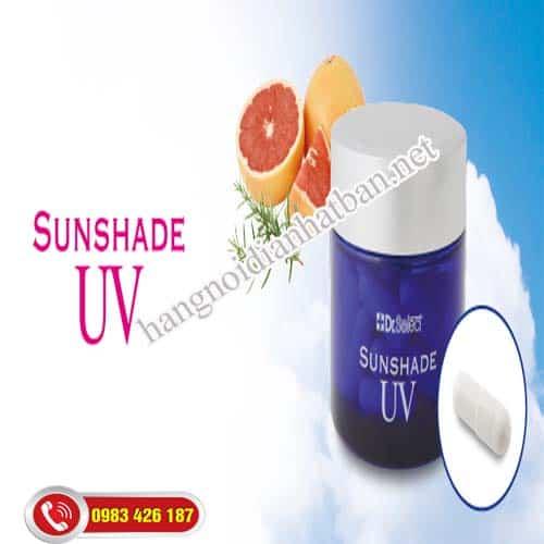 Viên uống chống nắng cao cấp Sunshade UV Dr. Select bảo vệ da