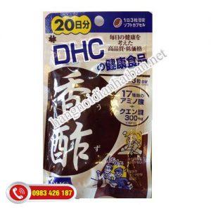 Viên uống dấm đen giảm cân DHC