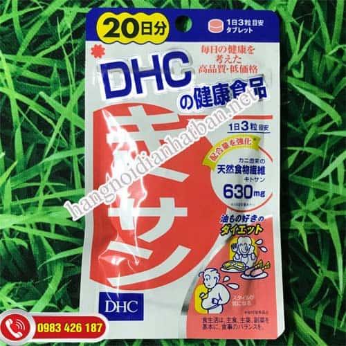 Viên uống giảm mỡ bụng Chitosan 20 ngày