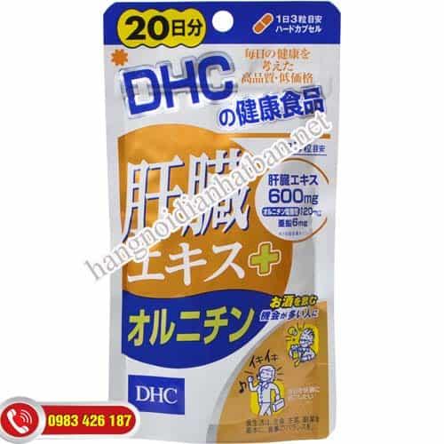 Viên uống mát gan DHC 30 ngày