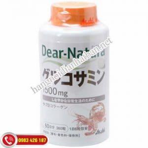 Thuốc bổ xương khớp Glucosamin Dear Natura Nhật Bản rẻ nhất Hà Nội