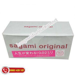 Bao Cao Su Sagami Original 0.02 Nhật Bản -màu hồng