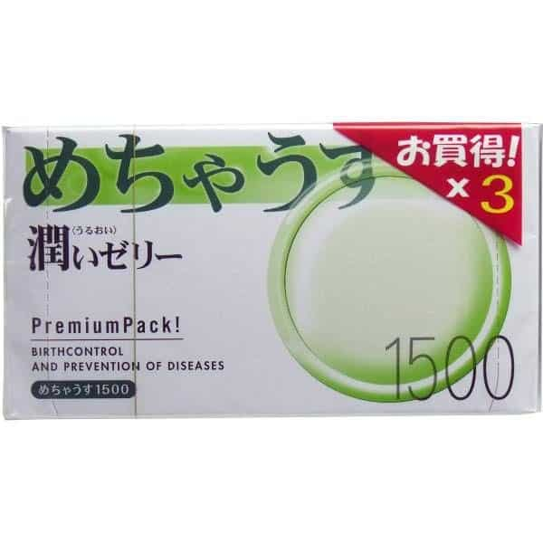 Bao cao su siêu mỏng Mechausu 1500 chính hãng Nhật Bản
