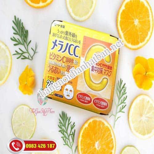 lợi ích của Mặt nạ Vitamin C