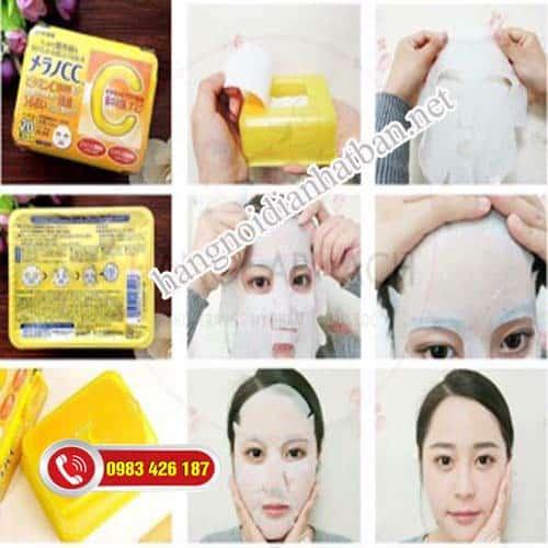 mặt nạ dưỡng da từ 2-3 lần mỗi tuần