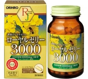 sua-ong-chua-royal-jelly-3000mg-orihiro-nhat-ban