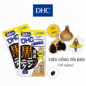 viên uống điều hòa huyết áp tỏi đen DHC