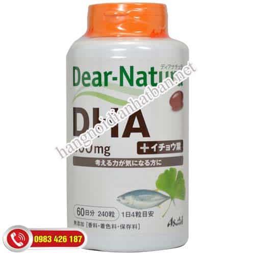 thuốc bổ não-dha-dear-natura-asahi-500mg-nhat-ban