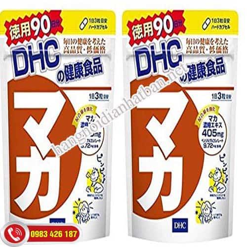 Viên uống Maca DHC tăng cường khả năng sinh lý mới nhất
