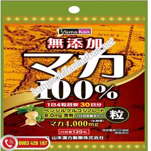 Viên uống Tăng cường sinh lý Yamamoto Maka tốt nhất Hà Nội