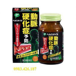 Viên đặc trị xơ vữa động mạch Nhật Bản