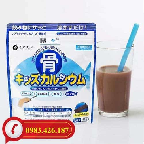 Bột Canxi Cá Tuyết Calcium tăng chiều cao Nhật Bản có mặt tại Hà Nội