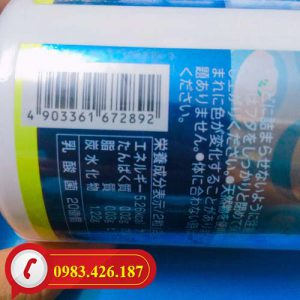 Kẹo bổ sung Canxi và Vitamin D Unimat Riken Nhật Bản