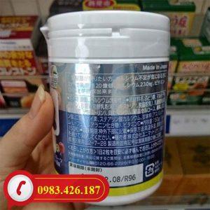 Kẹo bổ sung Canxi và Vitamin D Unimat Riken tốt cho bé