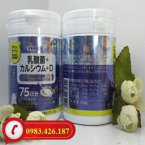 Kẹo bổ sung Canxi và Vitamin D chiết xuất tự nhiên