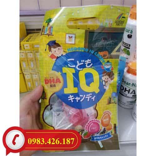 Kẹo mút tăng IQ Nhật Bản giúp trẻ thông minh vượt trội