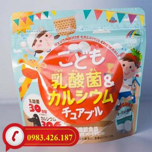 Kẹo nhai bổ sung Canxi và Lactic tại sao tốt cho trẻ