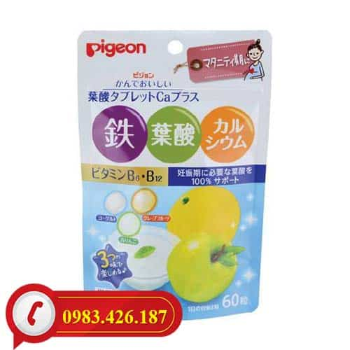 Vitamin bổ sung dinh dưỡng cho bà bầu Pigeon cao cấp Nhật Bản