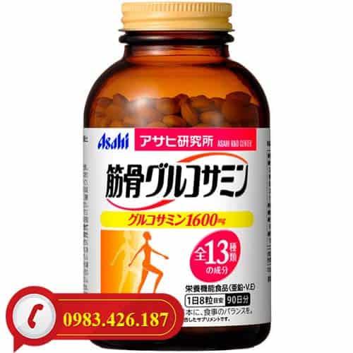 Thuốc xương khớp Glucosamine Chondroitin Asahi Nhật Bản