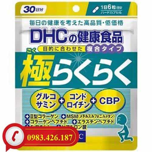 Viên uống bổ xương khớp Glucosamine DHC