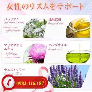 Thực phẩm chức năng bổ sung Estrogen với 14 loại thảo dược